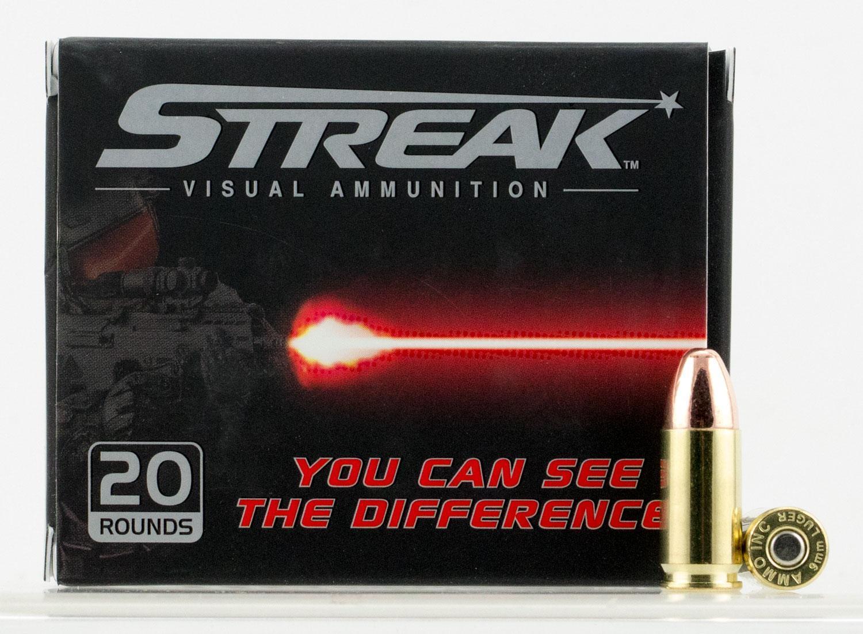 Ammo Inc Visual Ammunition Red Streak 9mm Luger-img-0