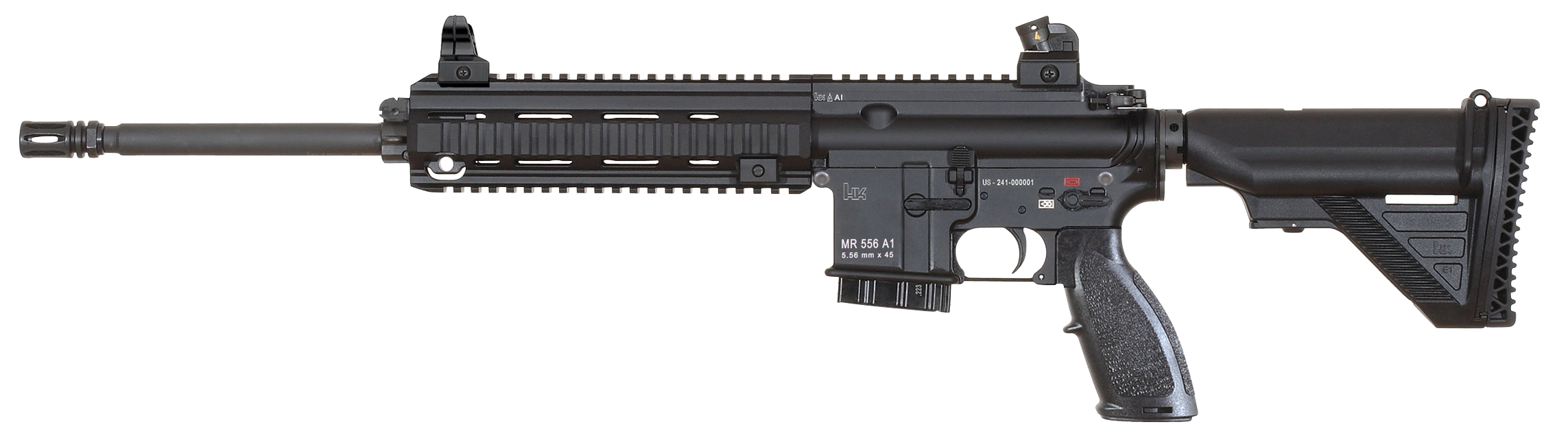 Heckler & Koch A1 with Fixed Buttstock MR556-img-1