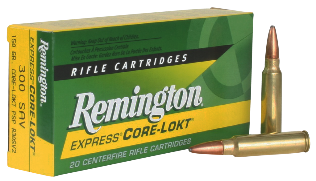 Remington Pointed Soft Point Core-Lokt .300 Savage-img-1
