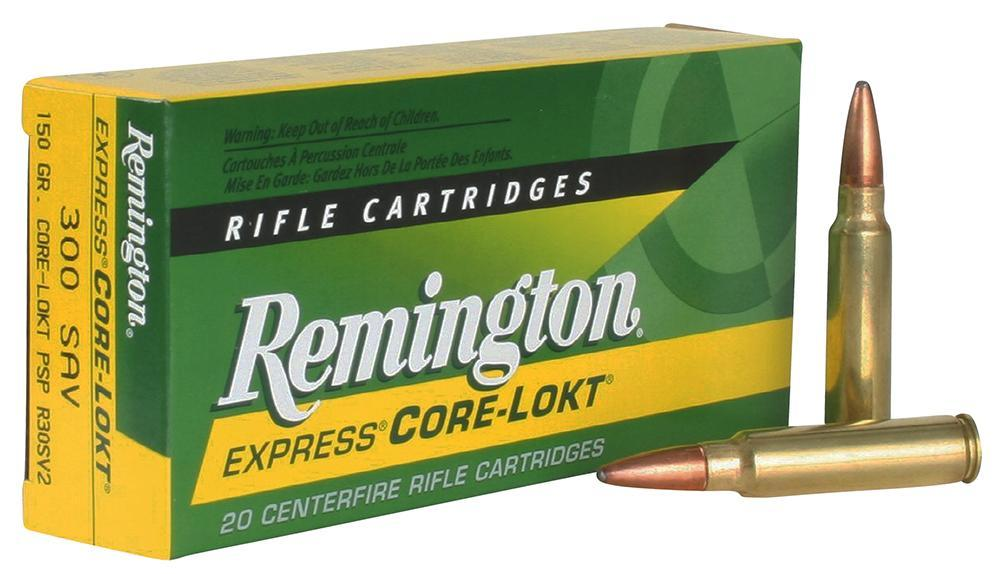 Remington Pointed Soft Point Core-Lokt .300 Savage-img-2