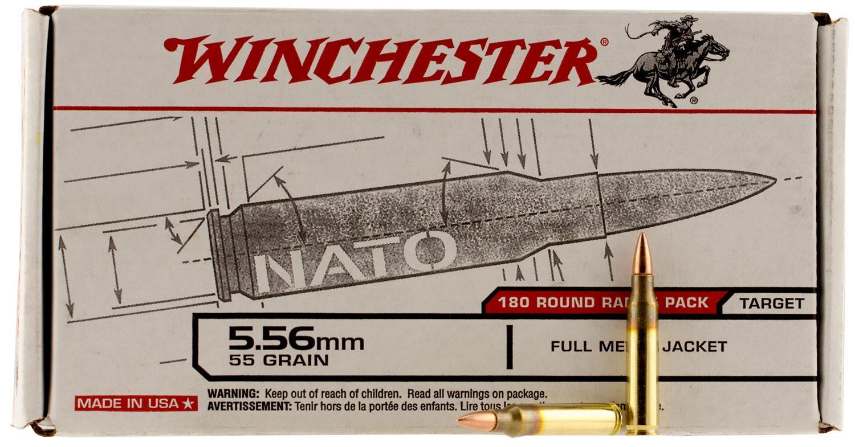 Winchester .23 Remington/5.56 NATO 55 GR Full Metal Jacket-img-1